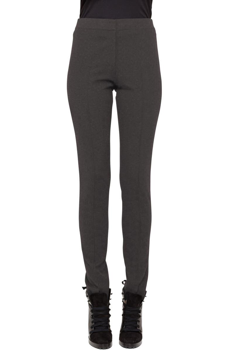 AKRIS PUNTO Stretch Jersey Pants, Main, color, 020