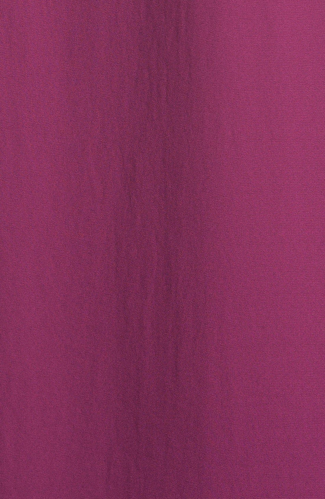 ,                             High/Low V-Neck Blouse,                             Alternate thumbnail 130, color,                             504