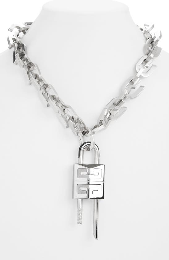 Givenchy Necklaces LOCK G LINK NECKLACE