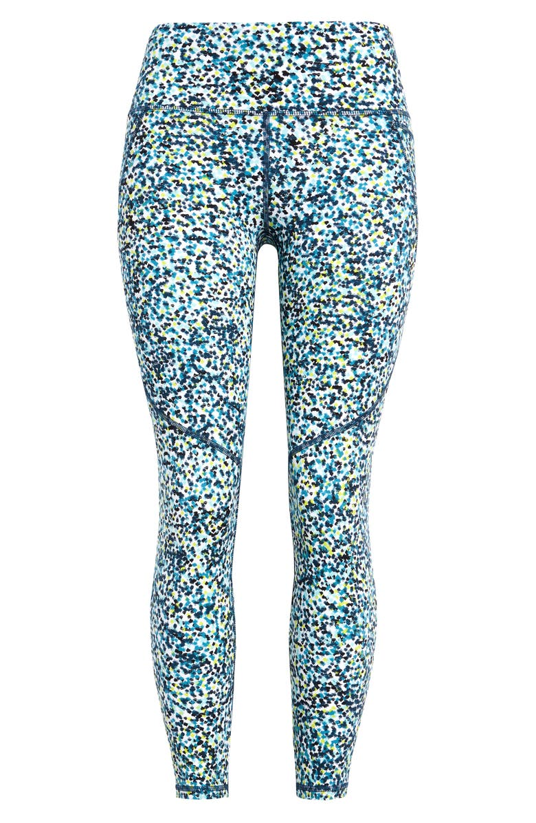 SWEATY BETTY Power Workout Leggings, Main, color, WHITE BRUSHSTROKE PRINT