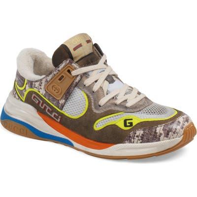 Gucci G Line Low Top Sneaker - Beige