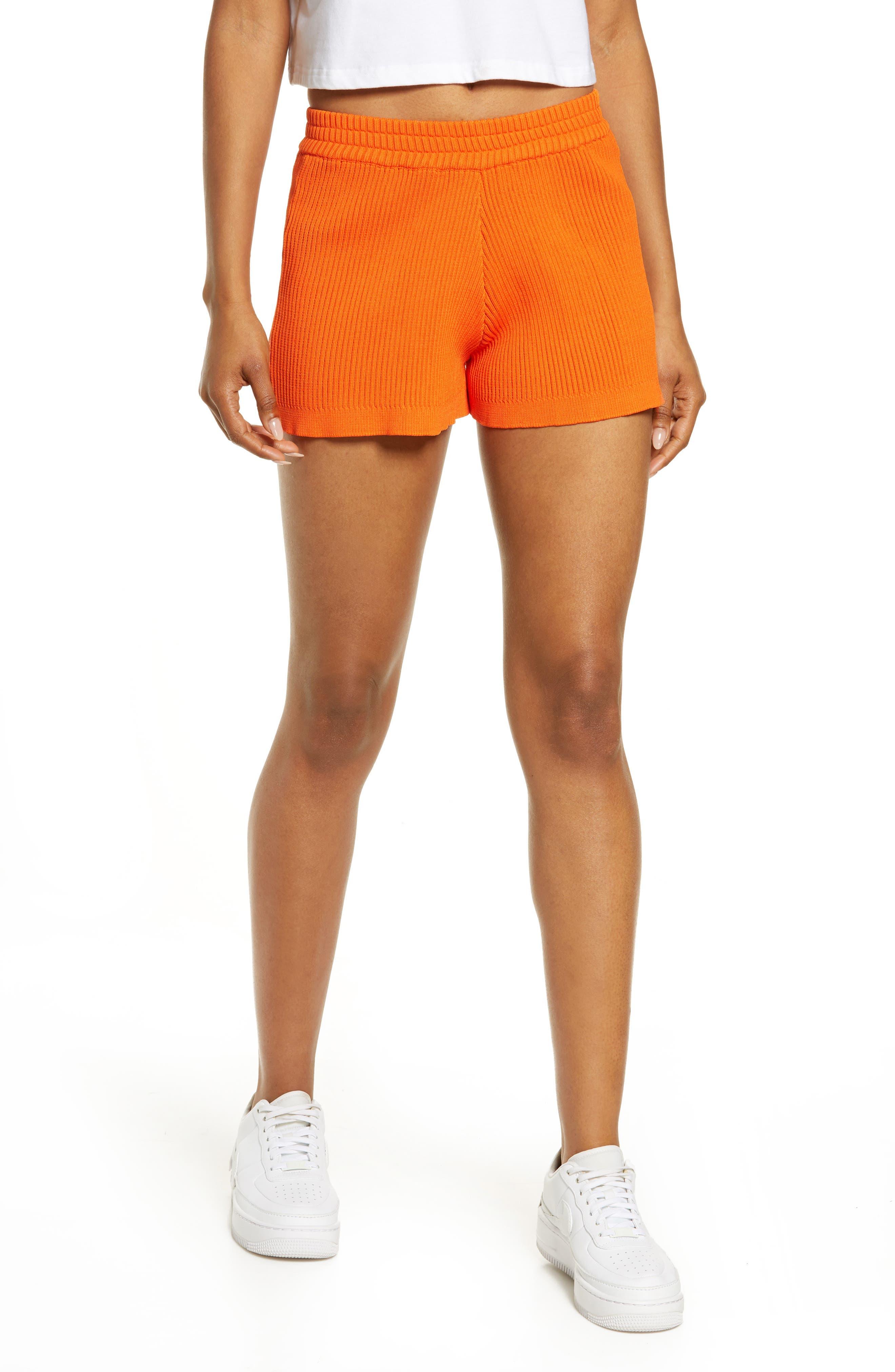 Women's By. dyln Eadie High Waist Rib Shorts