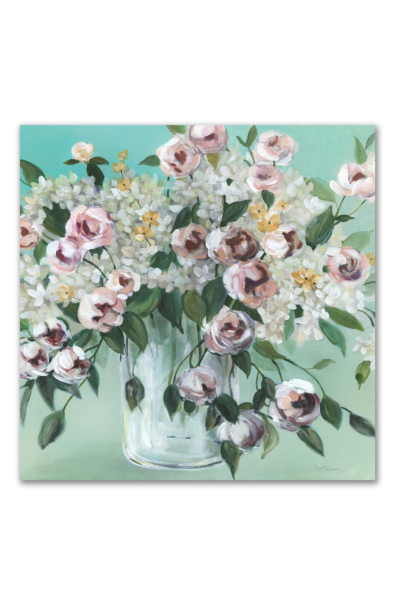 Courtside Market Vintage Blooms Gallery-wrapped Canvas Wall Art In Multi Color