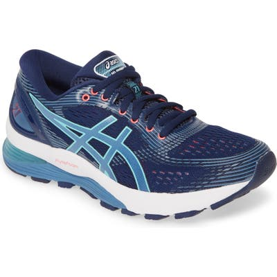 Asics Gel-Nimbus 21 Running Shoe B - Blue