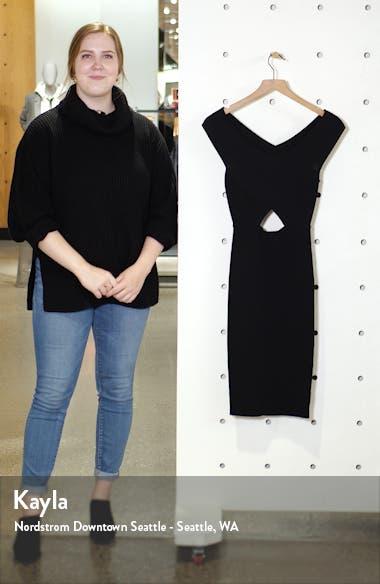 Cutout Sweater Dress, sales video thumbnail