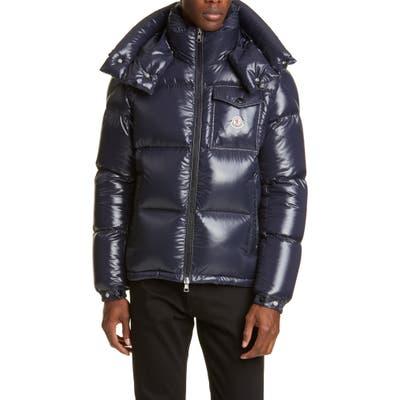 Moncler Montebeliard Down Puffer Jacket, Blue