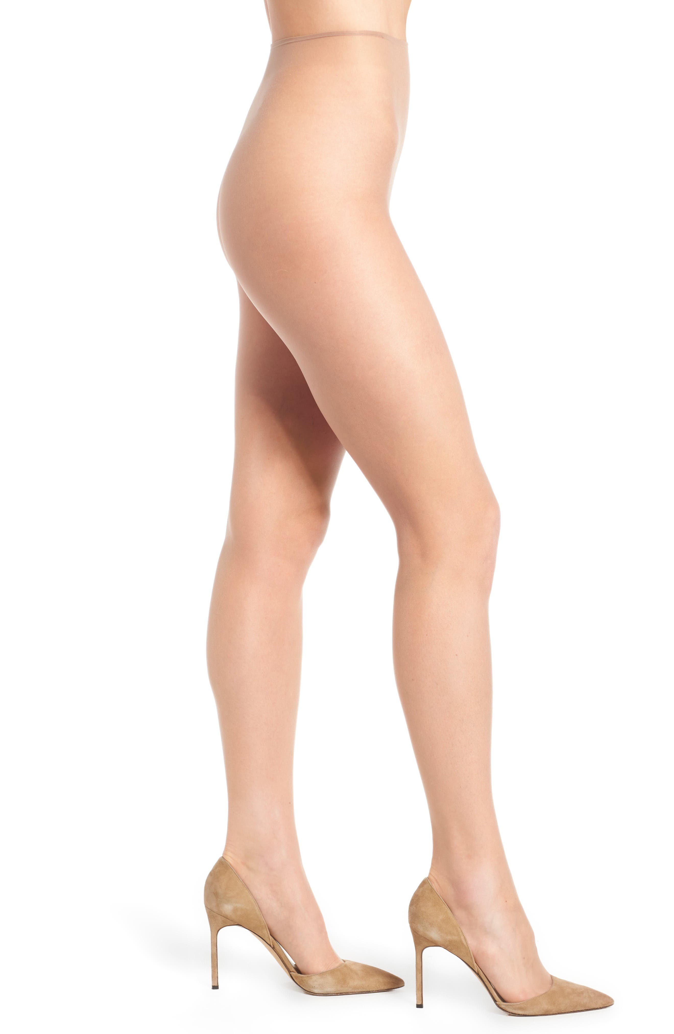 Image of Donna Karan Sheer to Waist Tights