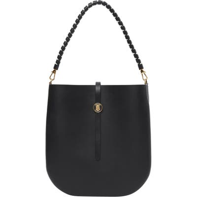 Burberry Anne Smooth Leather Bag - Black