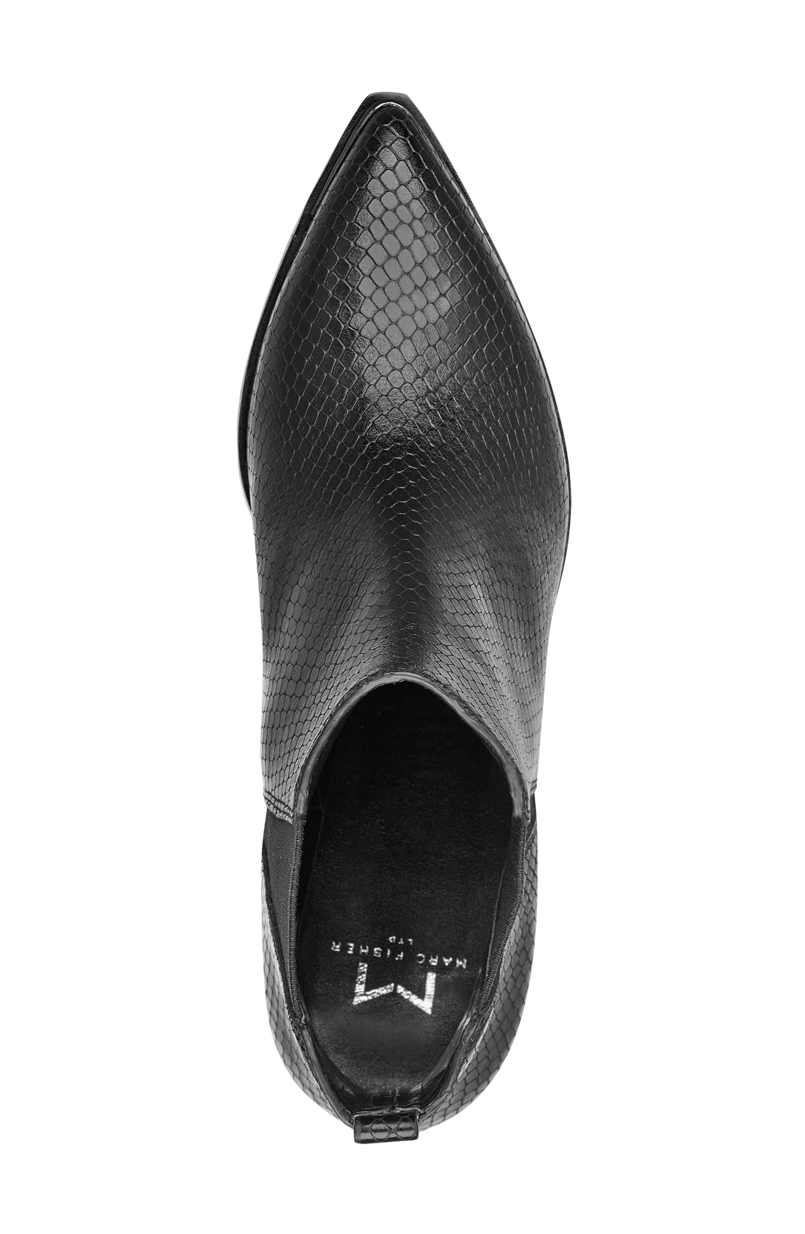 ,                             'Yale' Chelsea Boot,                             Alternate thumbnail 5, color,                             BLACK SNAKE
