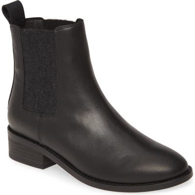 Eileen Fisher Vent Chelsea Boot, Black
