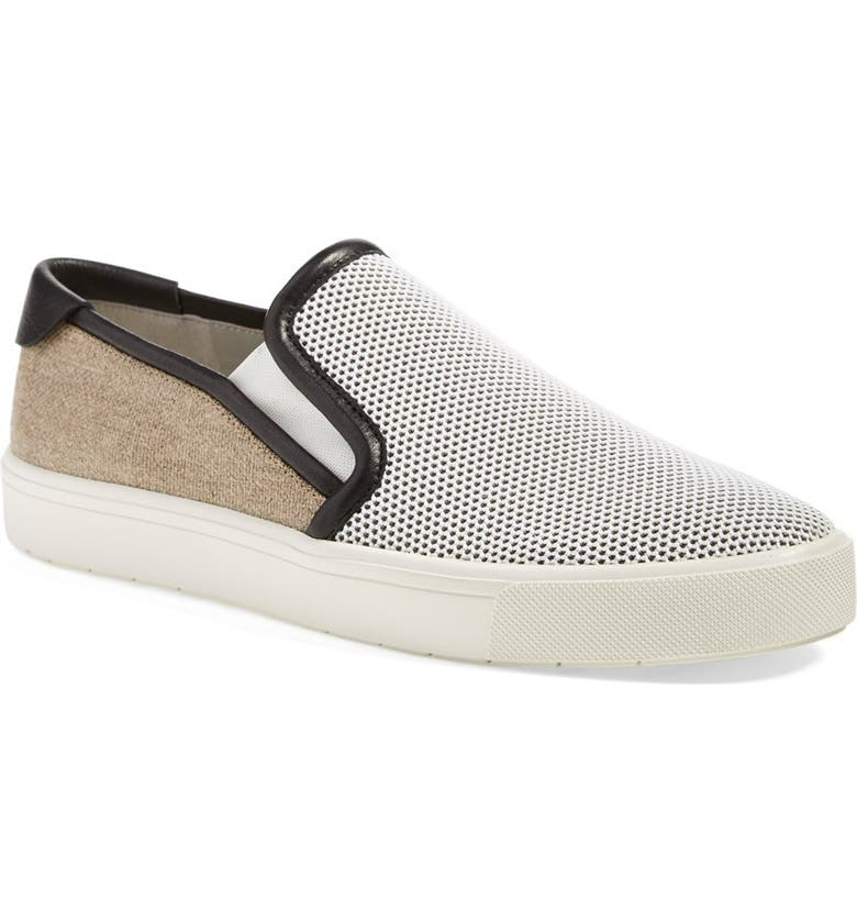 VINCE 'Bram' Slip On Sneaker, Main, color, 100