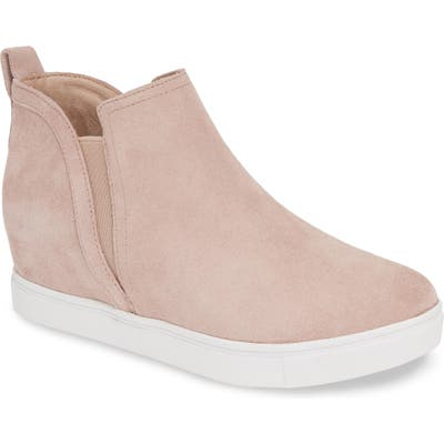 Blondo Georgette Waterproof Hidden Wedge Sneaker, Pink