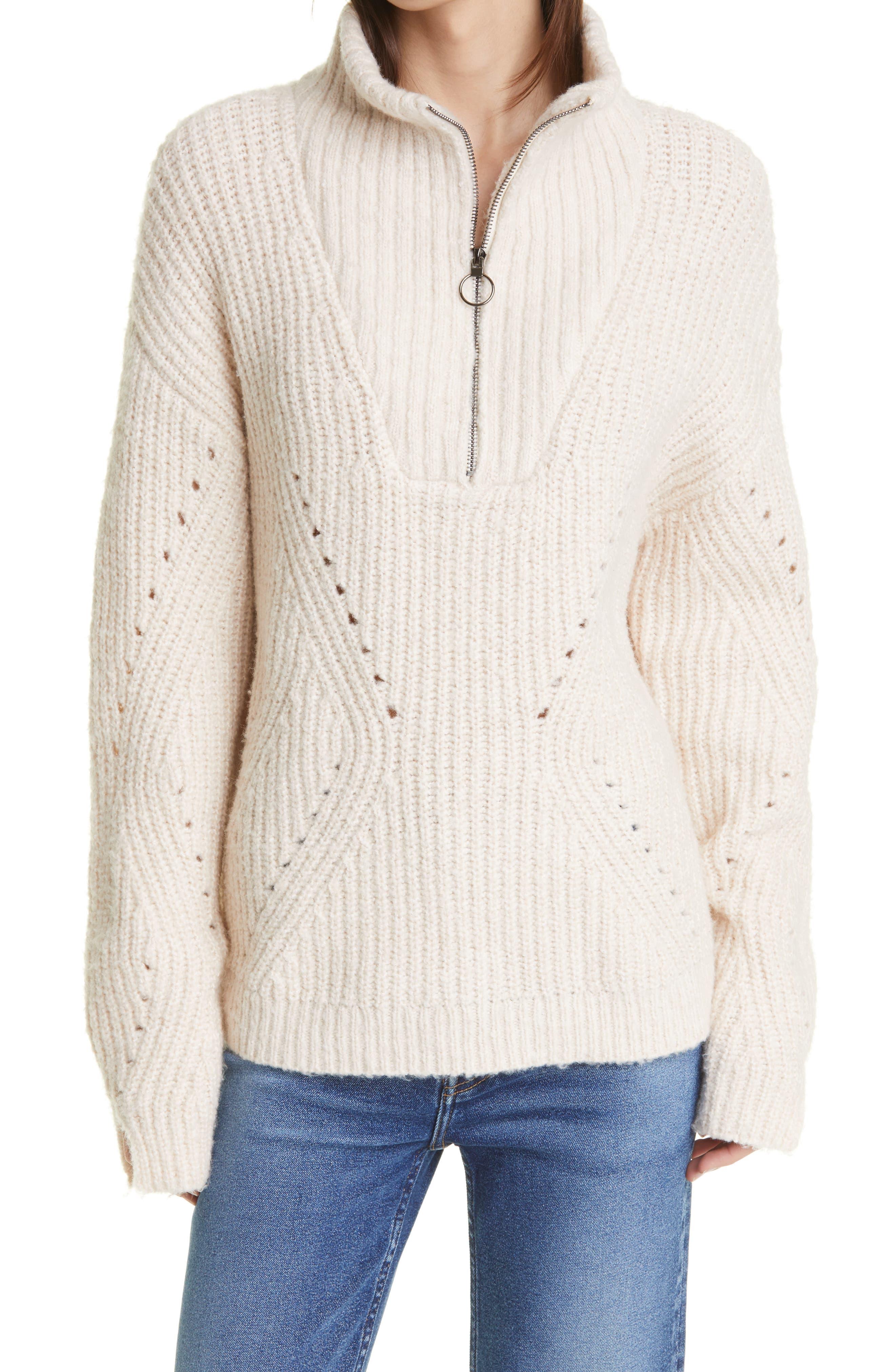 Rita Quarter Zip Pullover