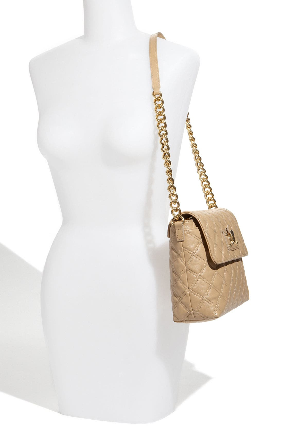 ,                             'Large Quilting Single' Leather Shoulder Bag,                             Alternate thumbnail 27, color,                             255