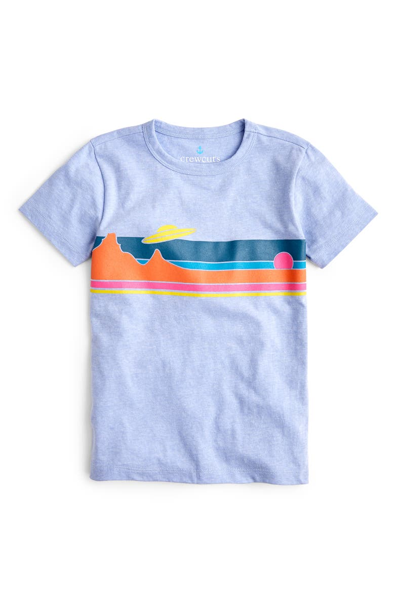 CREWCUTS BY J.CREW UFO T-Shirt, Main, color, 020