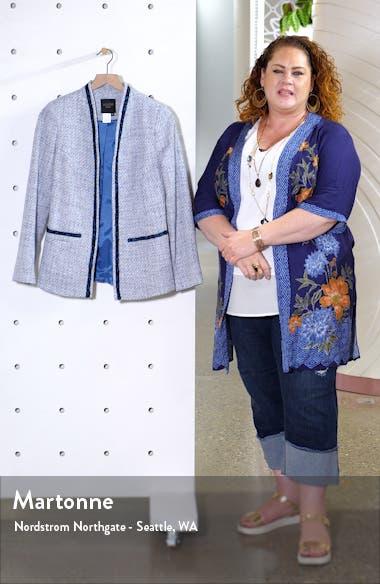 Colette Cotton Blend Tweed Jacket, sales video thumbnail
