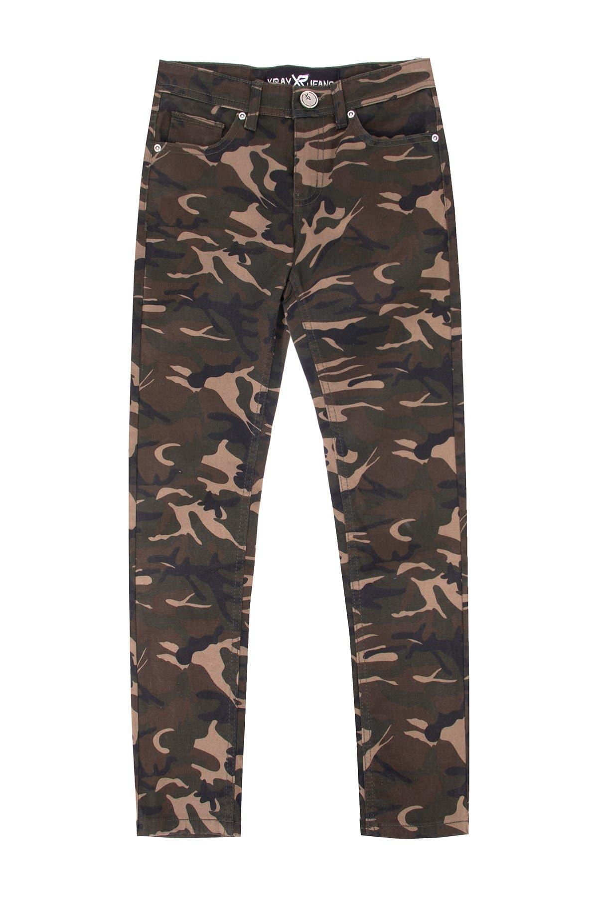 Image of XRAY Camo Print Jeans