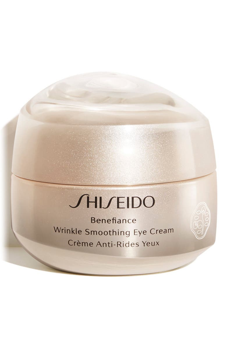 SHISEIDO Benefiance Wrinkle Smoothing Eye Cream, Main, color, NO COLOR