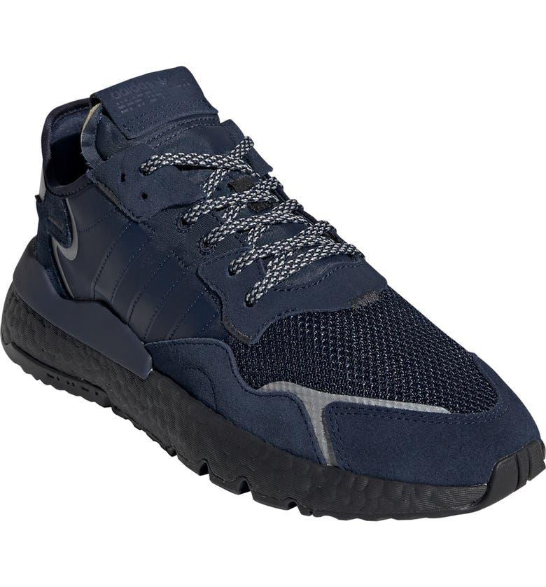 ADIDAS Nite Jogger Sneaker, Main, color, COLLEGIATE NAVY/ CORE BLACK