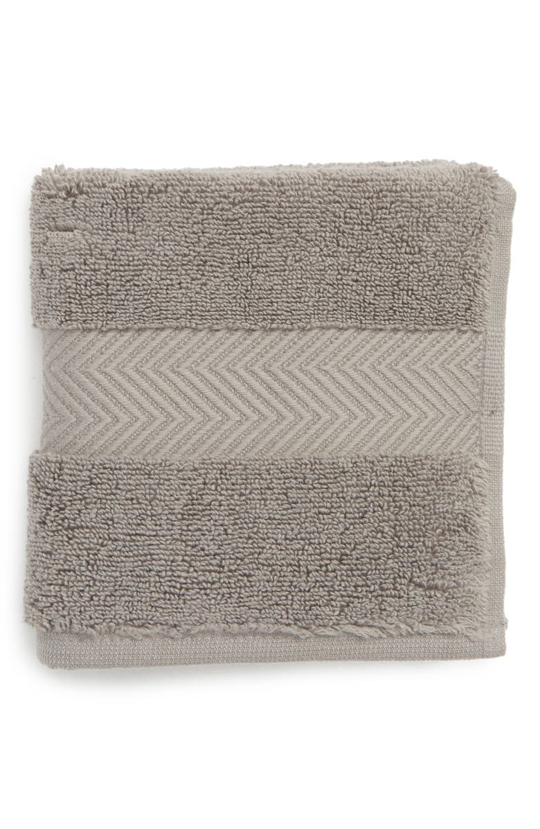 NORDSTROM AT HOME Hydrocotton Washcloth, Main, color, GRAPHITE