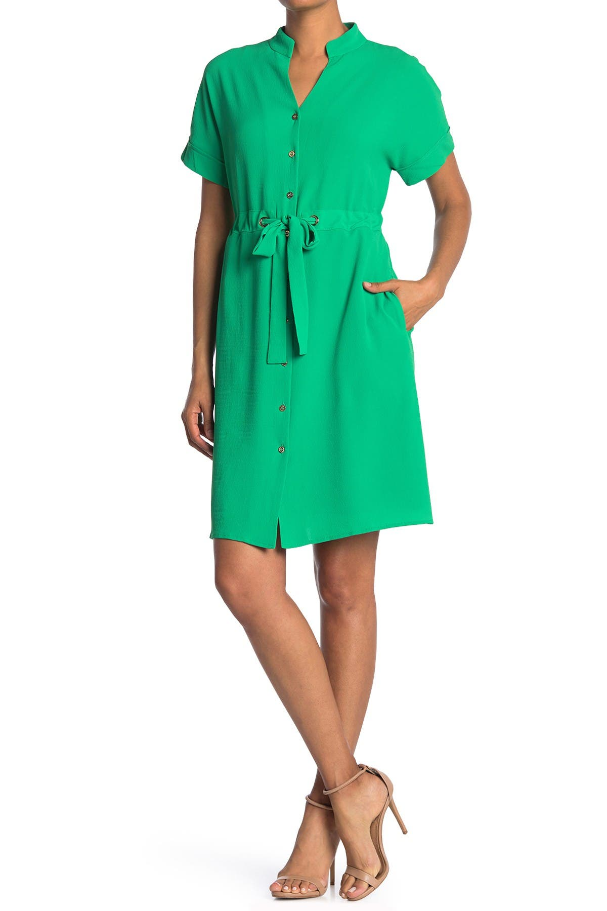 Image of Maggy London Dolman Sleeve Dress