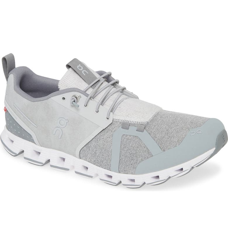 ON Running Cloudterry Sneaker, Main, color, SILVER