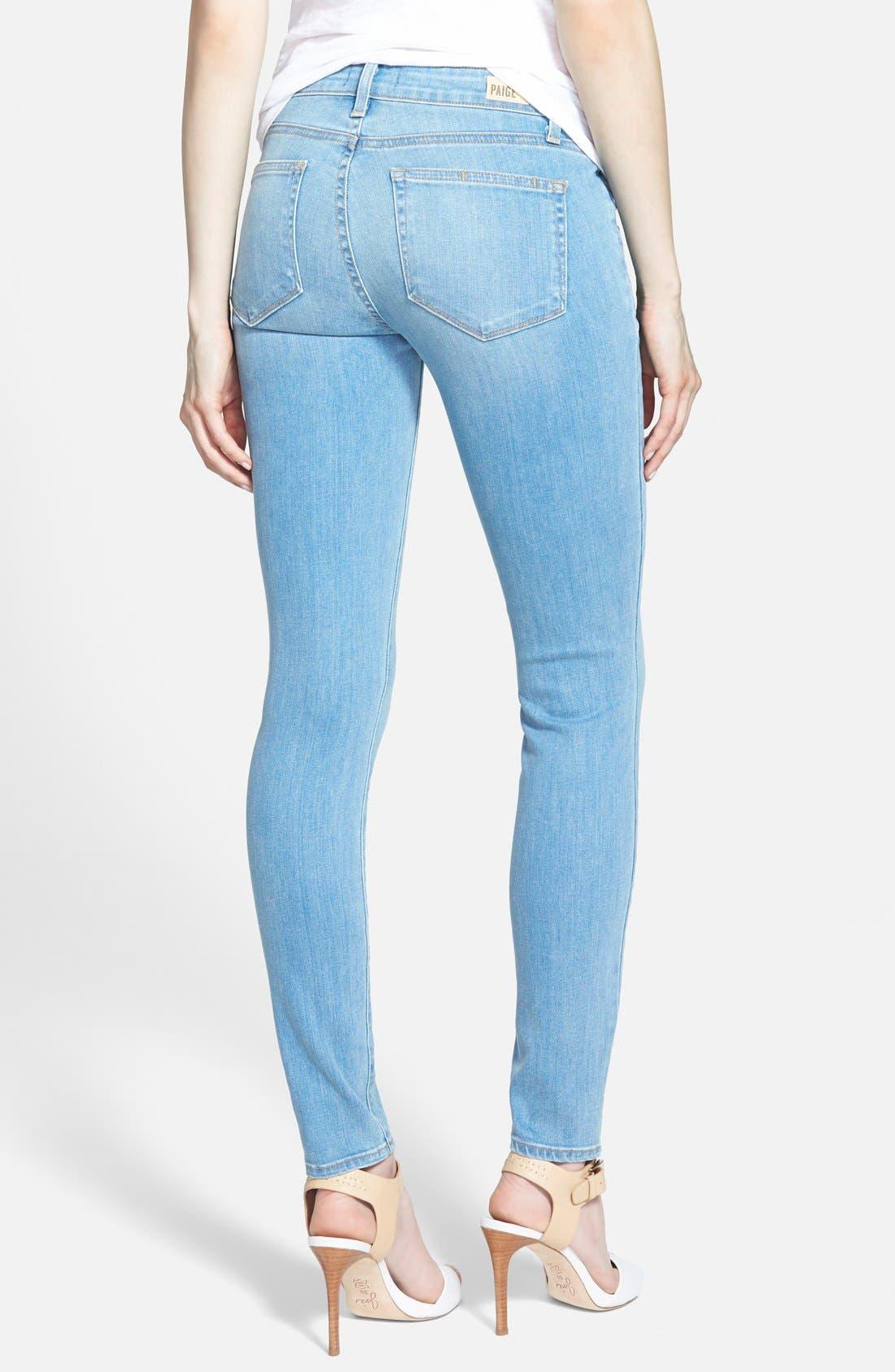 ,                             Denim 'Edgemont' Ultra Skinny Jeans,                             Alternate thumbnail 3, color,                             400