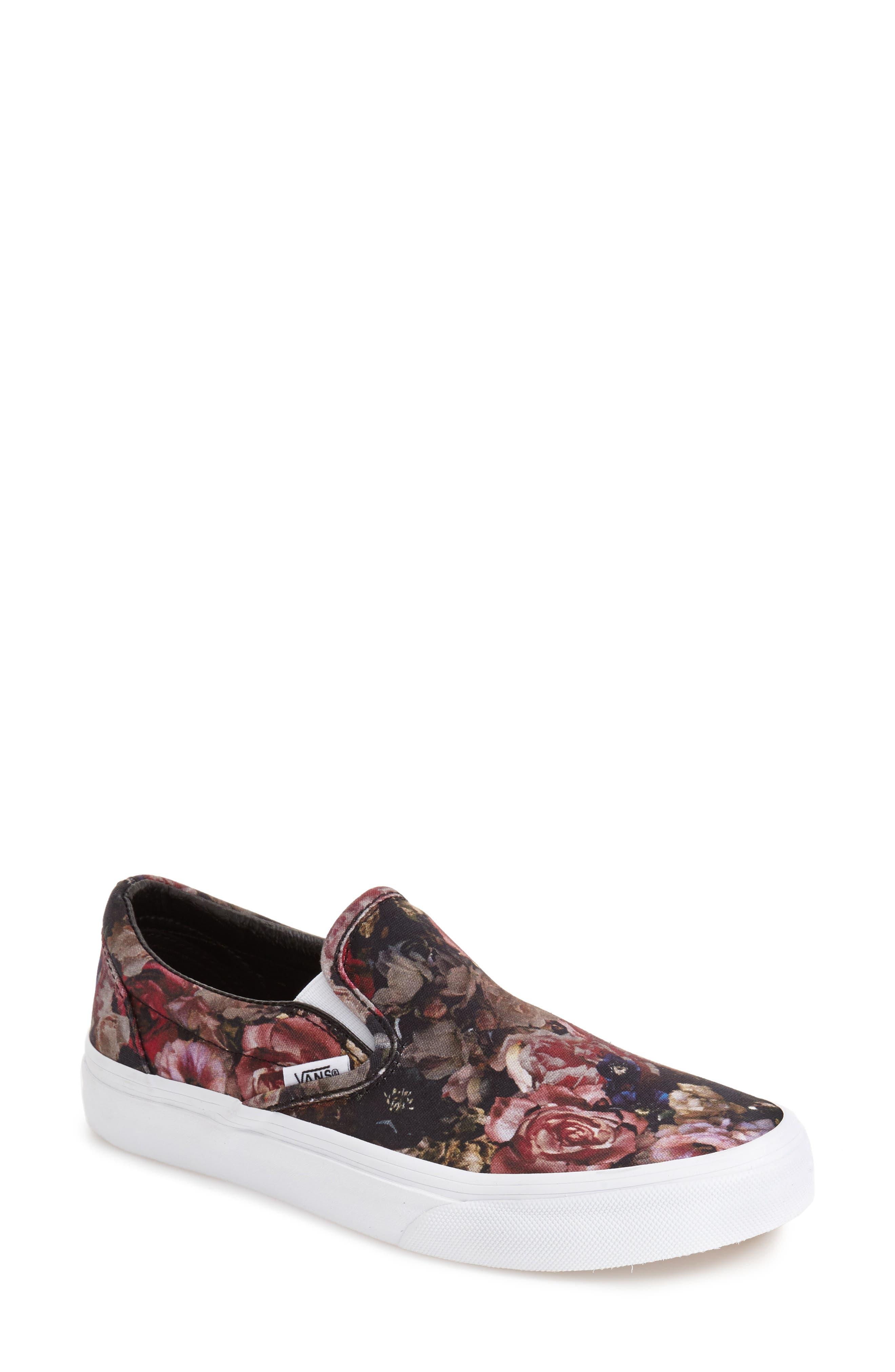 ,                             Classic Slip-On Sneaker,                             Main thumbnail 247, color,                             004