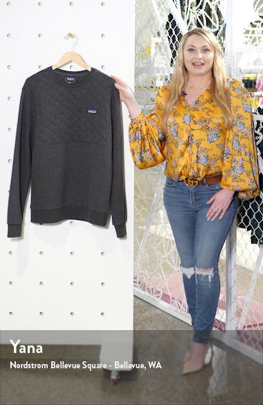 Quilted Sweatshirt, sales video thumbnail