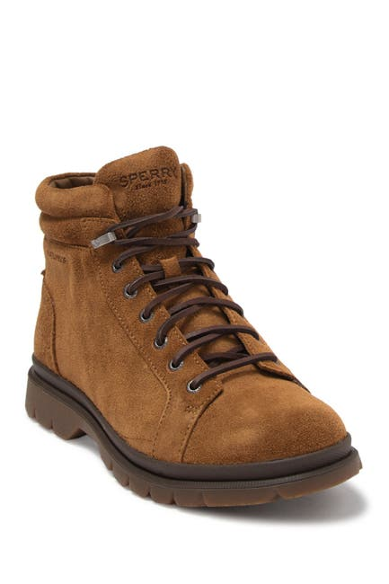 Image of Sperry Watertown Suede Lace-Up Boot