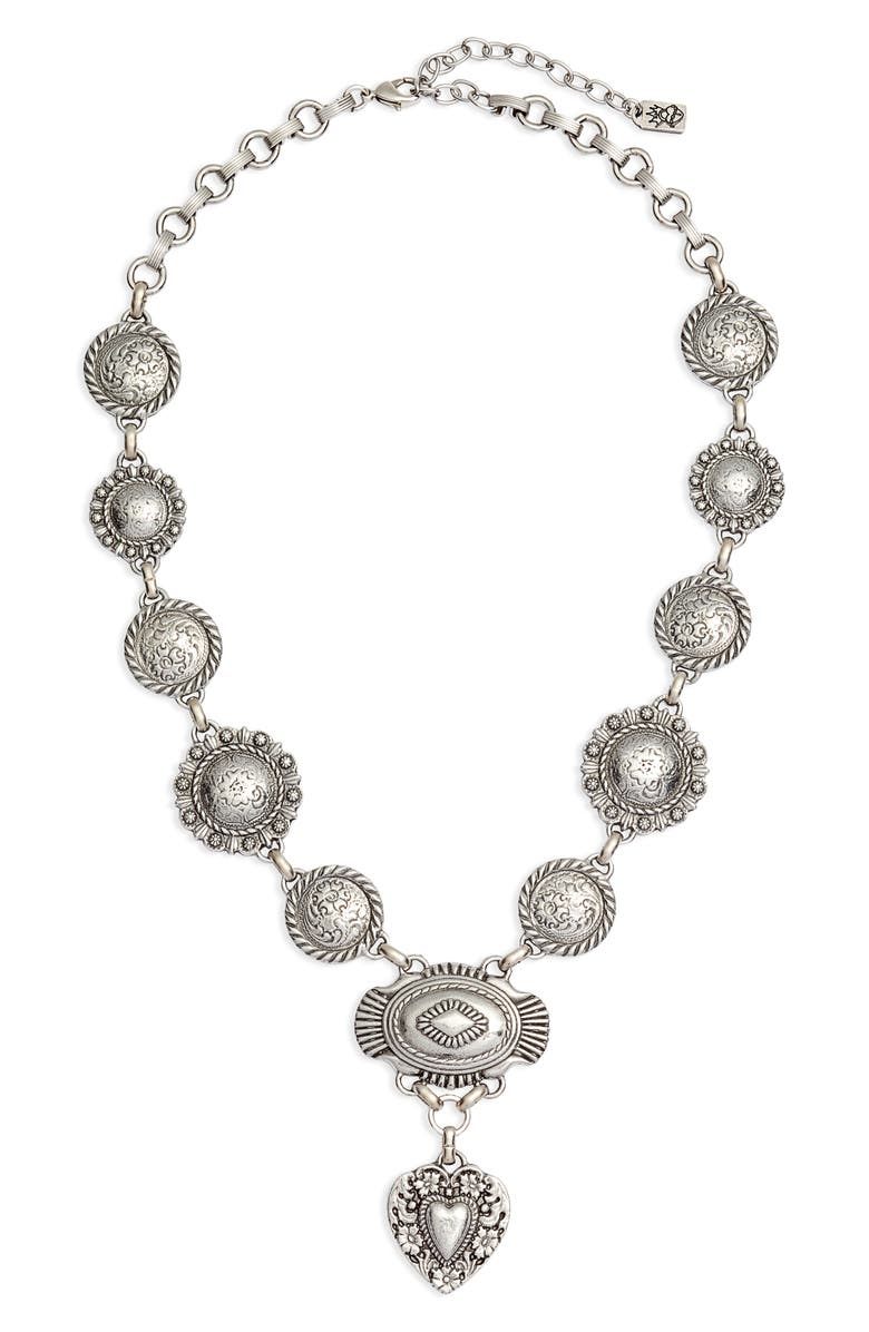 CLASSIC HARDWARE Bohemian Cowgirl Love Necklace, Main, color, 040