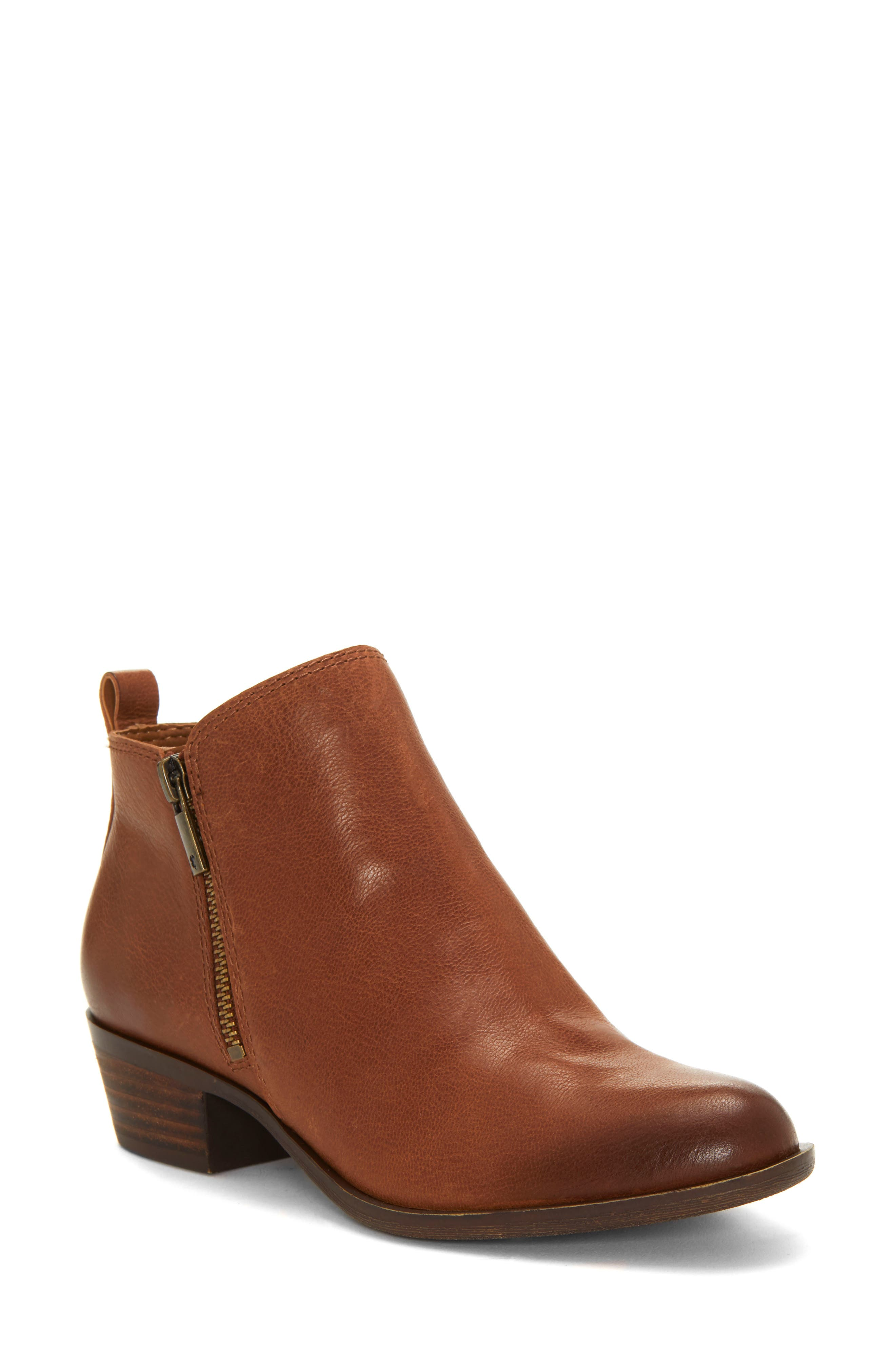 Lucky Brand Basel Bootie- Brown