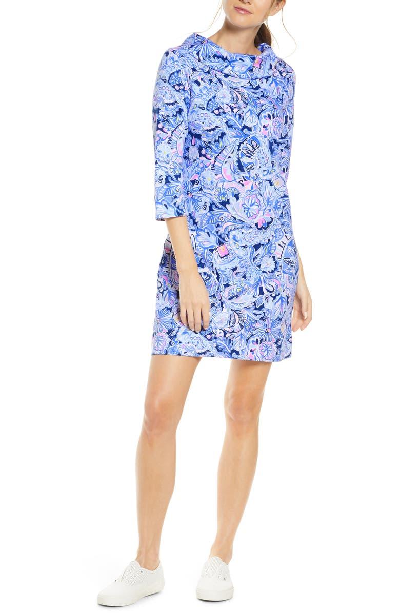 LILLY PULITZER<SUP>®</SUP> Saralyn Shift Dress, Main, color, 400