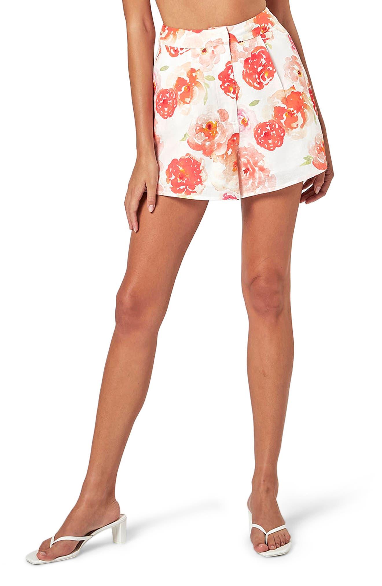 Shell Linen & Cotton Shorts