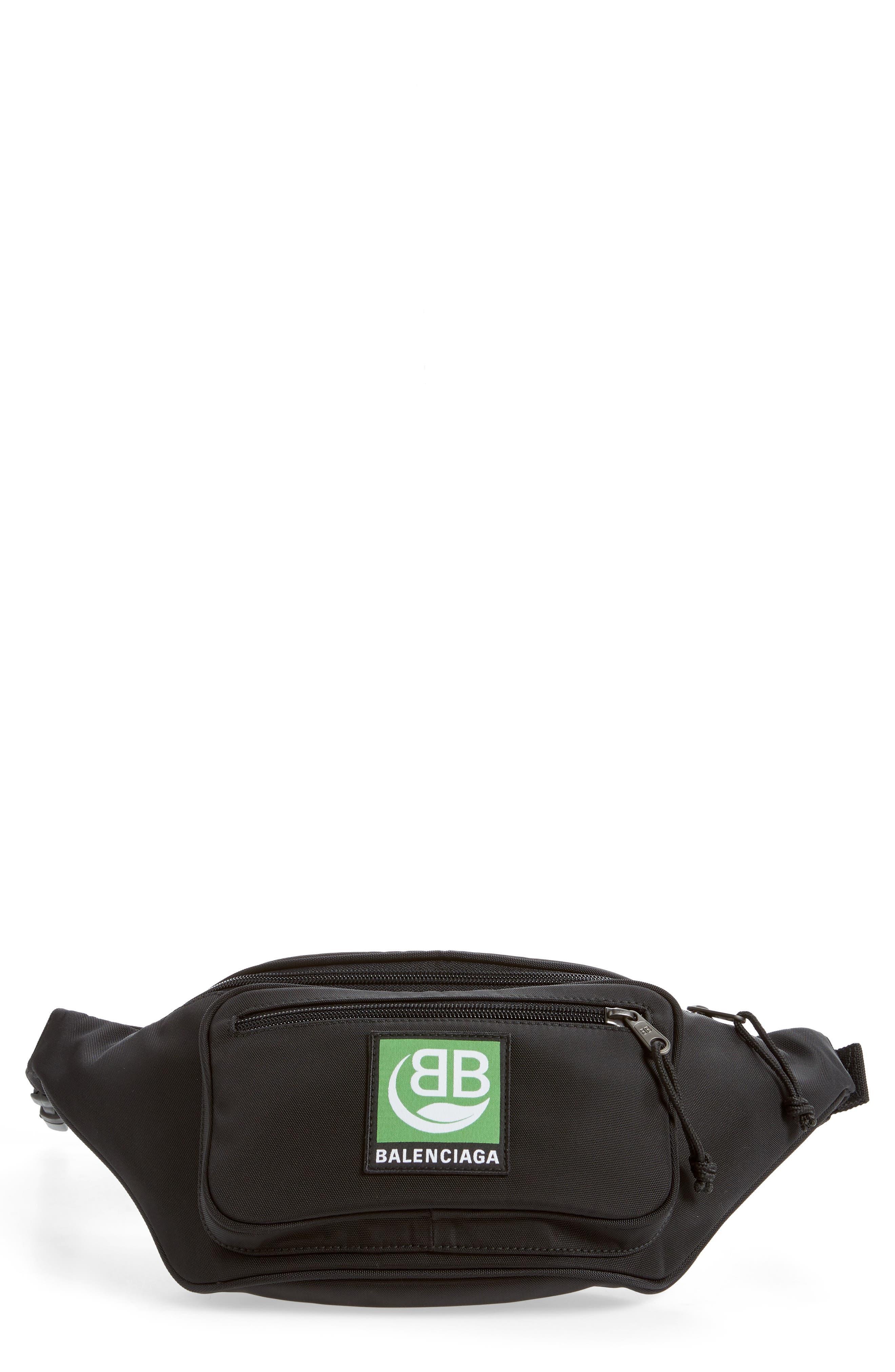 Balenciaga Belt Explorer Canvas Belt Bag