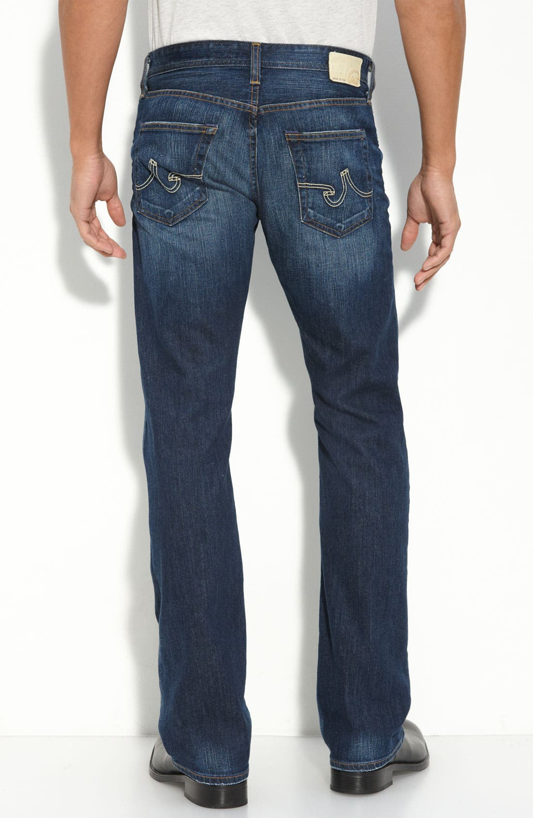 ,                             'Protégé' Straight Leg Jeans,                             Alternate thumbnail 46, color,                             461