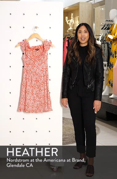 Ditsy Floral Minidress, sales video thumbnail