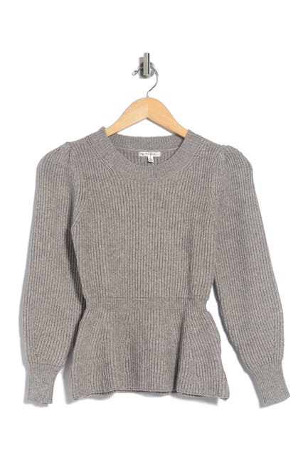 Image of Maisie Fletcher Puffed Sleeve Sweater