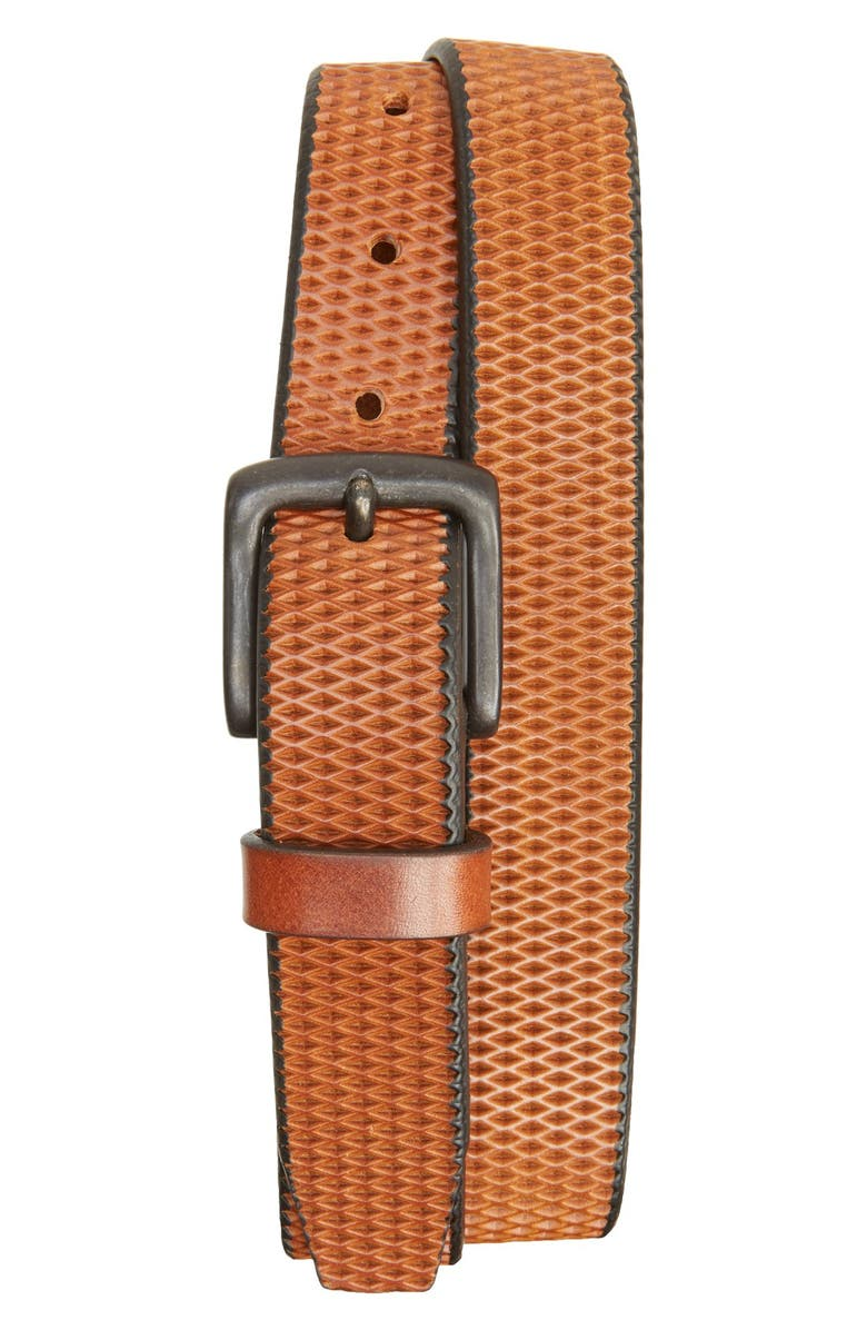 Remo Tulliani Laser Cut Leather Belt