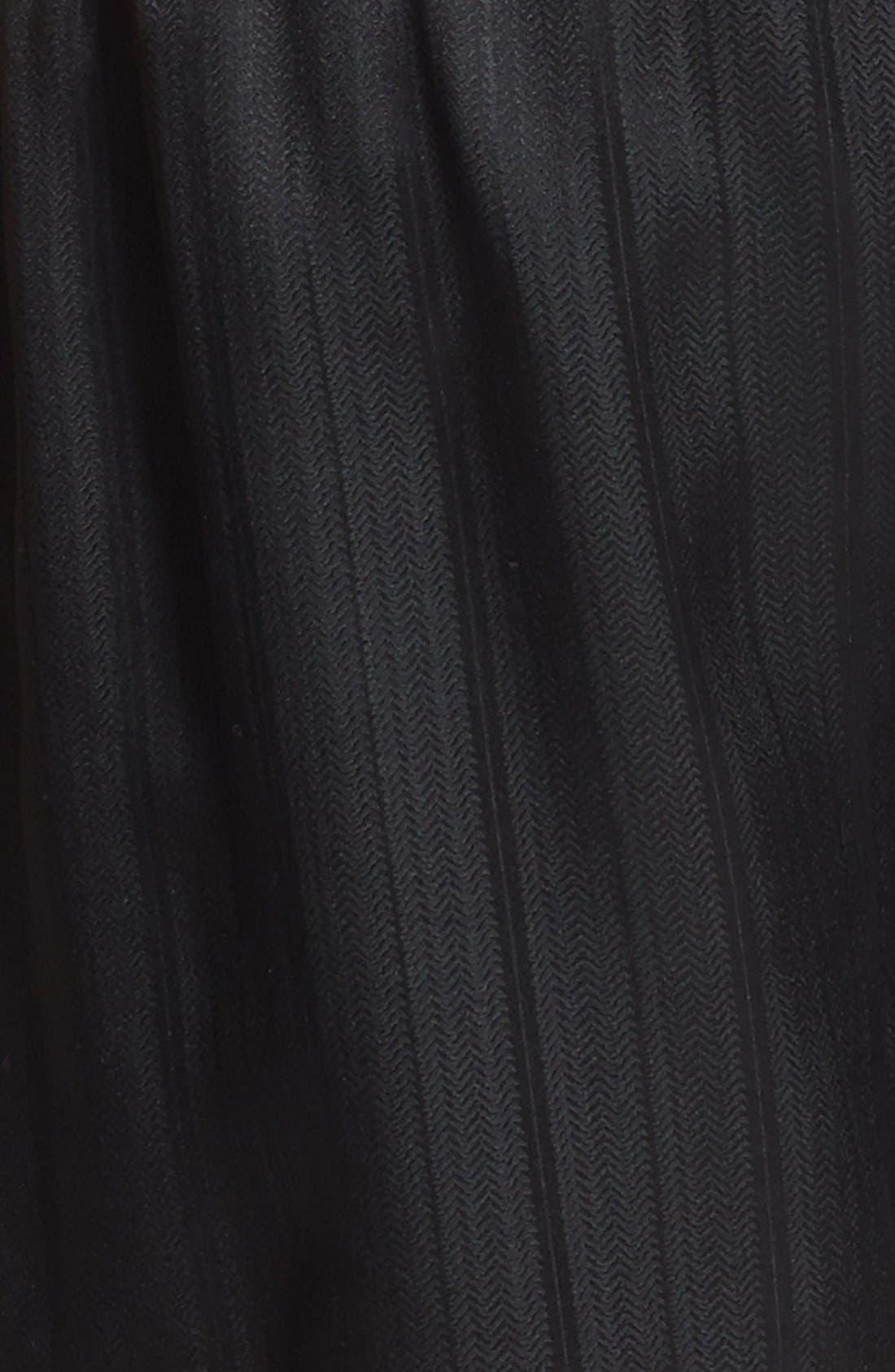 ,                             Herringbone Stripe Silk Boxer Shorts,                             Alternate thumbnail 6, color,                             NIGHT