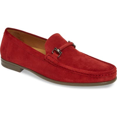 Mezlan Landa Bit Loafer- Red