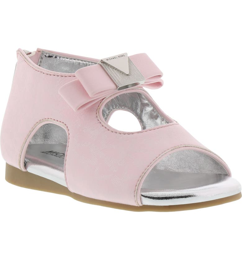 MICHAEL MICHAEL KORS Tilly Dahna Sandal, Main, color, BARELY PINK