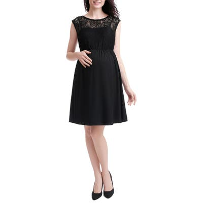 Kimi And Kai Genevieve Lace Maternity Dress