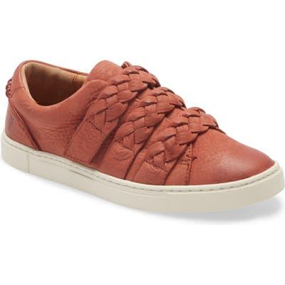 Frye Ivy Braid Strap Sneaker, Red