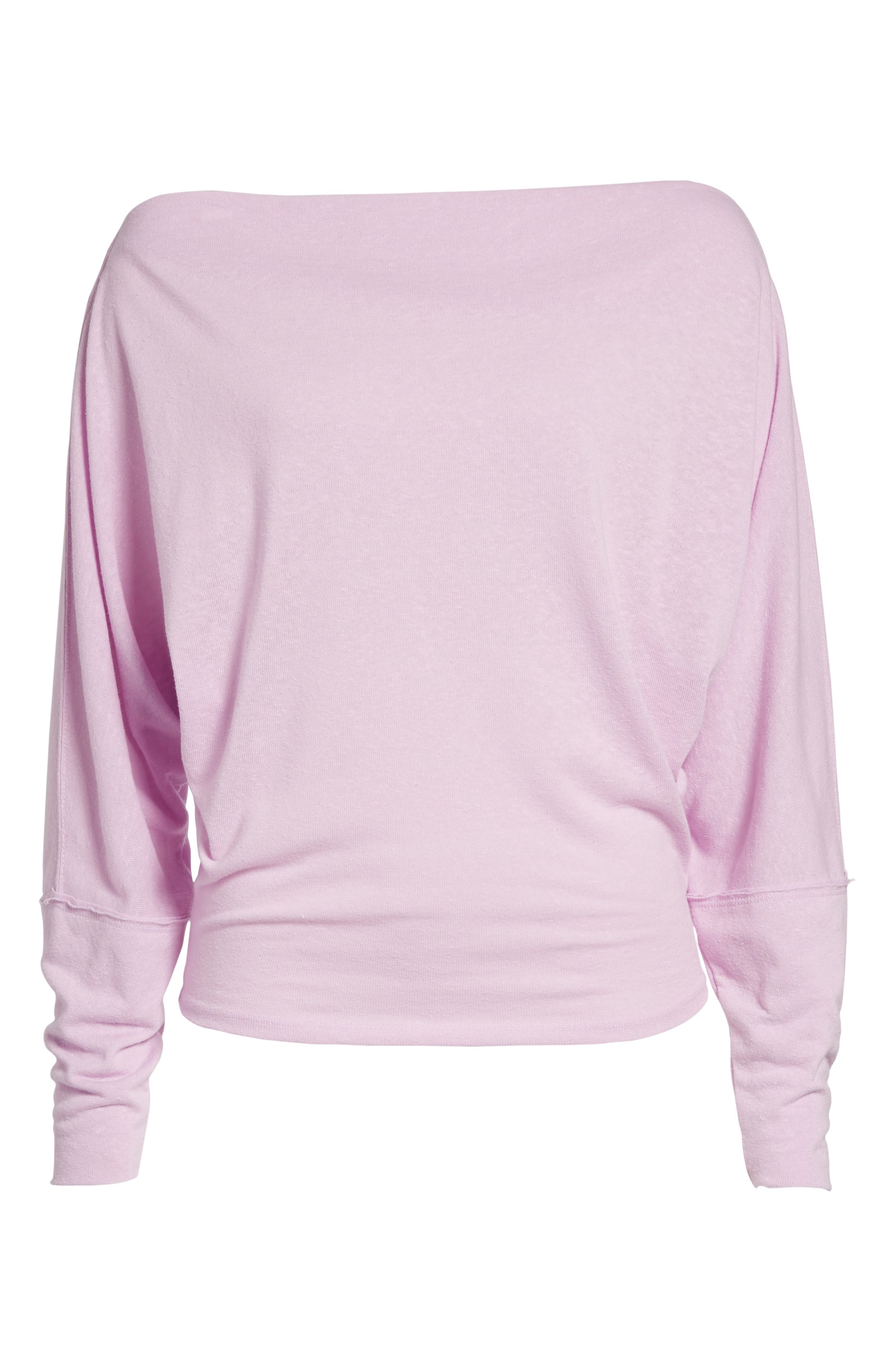 ,                             Valencia Off the Shoulder Pullover,                             Alternate thumbnail 6, color,                             530