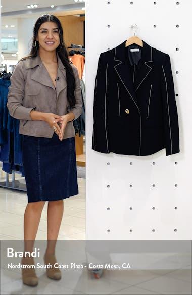 Una Wool Blend Blazer, sales video thumbnail