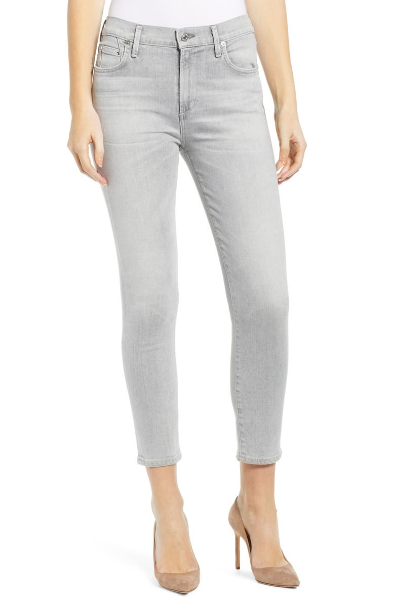 CITIZENS OF HUMANITY Sculpt - Rocket High Waist Crop Skinny Jeans, Main, color, PHANTOM
