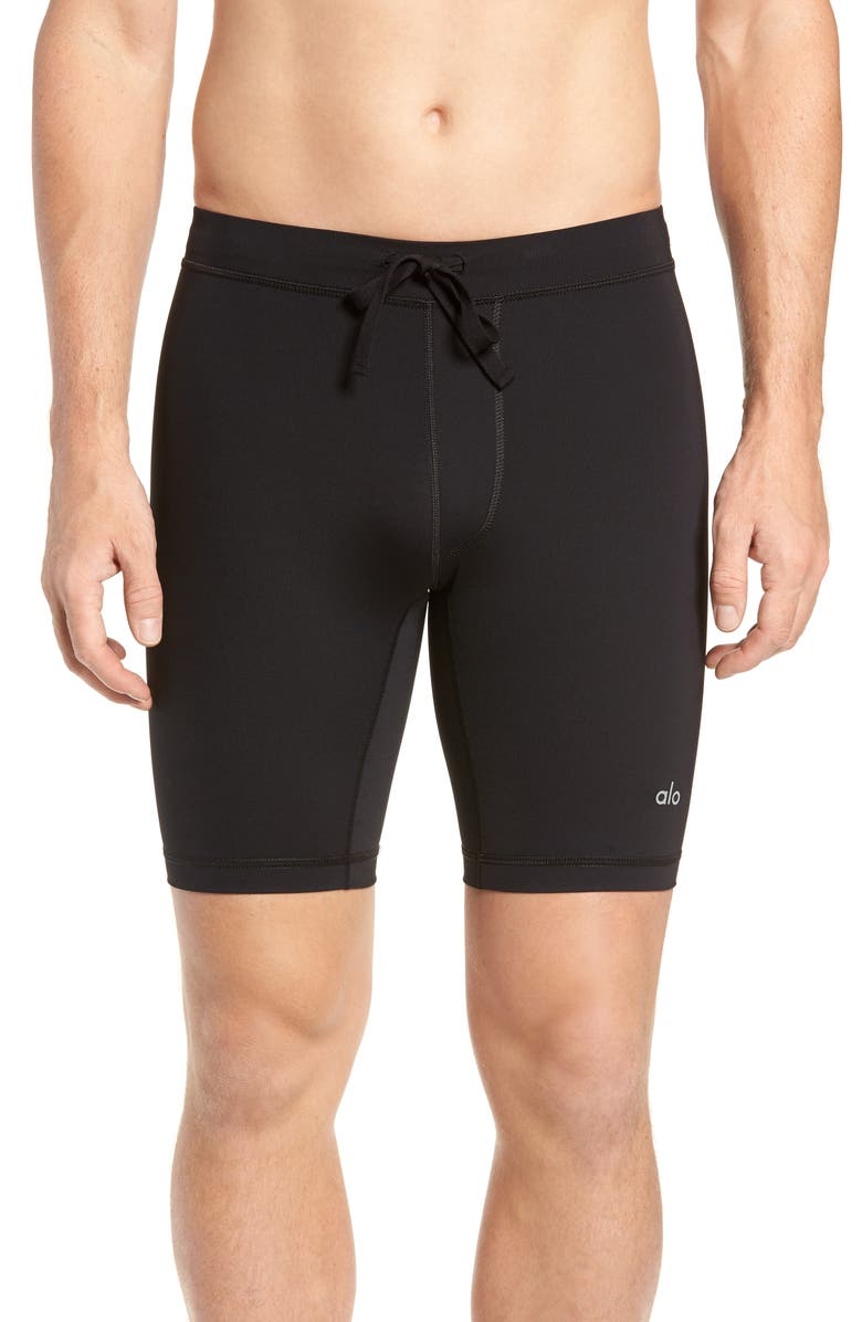 ALO Warrior Compression Shorts, Main, color, 001