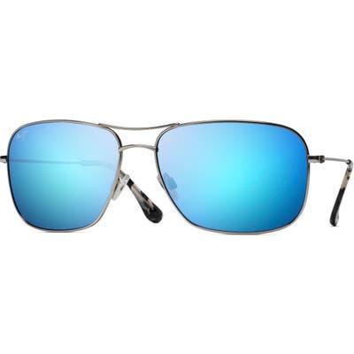 Maui Jim Breezeway 6m Polarizedplus2 Sunglasses - Metallic Silver