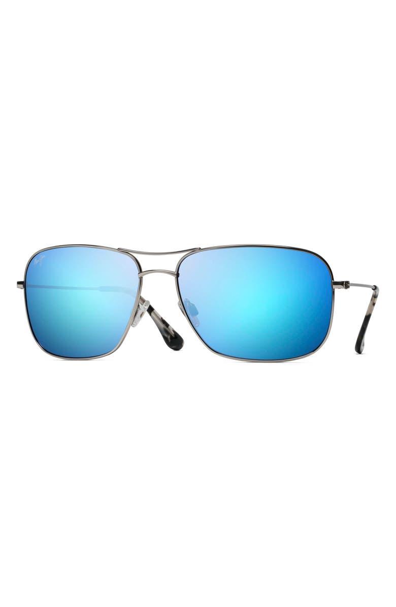 MAUI JIM Breezeway 63mm PolarizedPlus2<sup>®</sup> Sunglasses, Main, color, 041